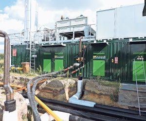 Bioenergie Heizzentrale